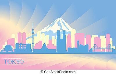 perfil de ciudad, tokio