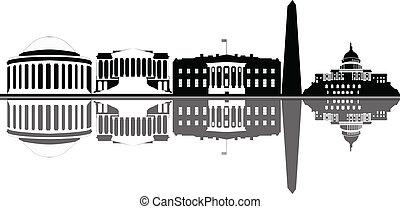 perfil de ciudad, washington dc