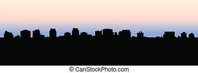 perfil de toronto, norte, york