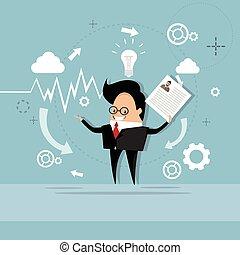 perfil, negócio, candidato, currículo, recrutamento, trabalho, posição, vitae, cv, homem