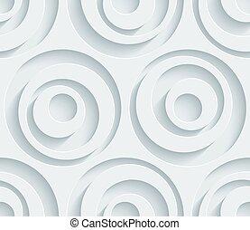perforé, blanc, paper.
