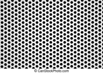 perforated aluminum sheet metallic background