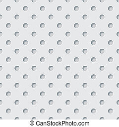 Perforated background - Vector perforated texture.
