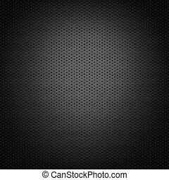 carbon fiber background - perforated carbon fiber background