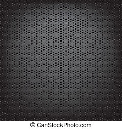 perforated carbon fiber weave background