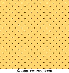 Perforated leather - Perforated yellow leather. Abstract...