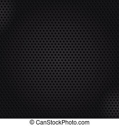 Perforated metal background - Dark texture background of...