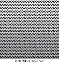 perforated plastic background