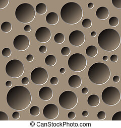 perforated seamless pattern