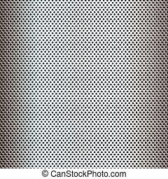 perforato, metallo, 2907, fondo