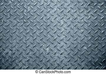 Perfored steel - Industrial metal perforation texture.