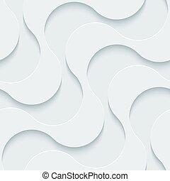 perforerat, vit, paper.