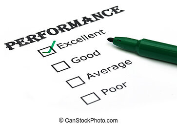 performance, évaluer