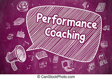 Performance Coaching - Business Concept.