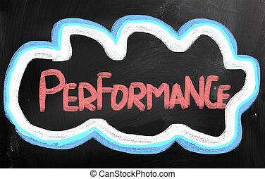 performance, concept