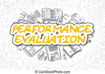 Performance Evaluation - Business Concept.
