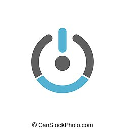Performance icon on background for graphic and web design. Simple illustration. Internet concept symbol for website button or mobile app.