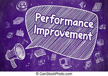 Performance Improvement - Business Concept.