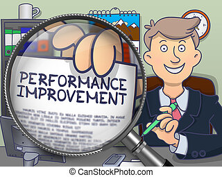 Performance Improvement through Lens. Doodle Style.