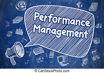 Performance Management - Business Concept.