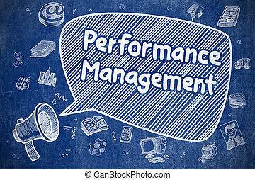 Performance Management - Business Concept.