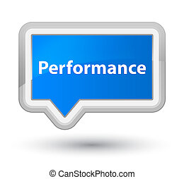 Performance prime cyan blue banner button