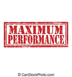 performance-stamp, maximum