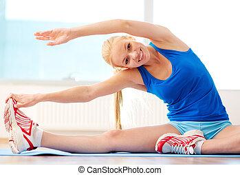 performing, cvičit