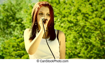 Performing outdoors