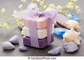 perfumado, jabón