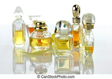perfume assortment