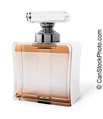 Perfume bottle. 3D illustration