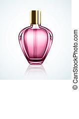 Perfume bottle - Isolated perfume bottle, eps 10