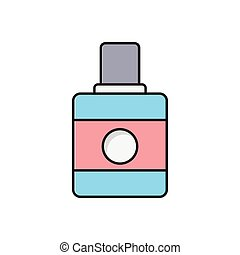 perfume  flat color icon