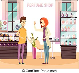 Perfume Shop Composition