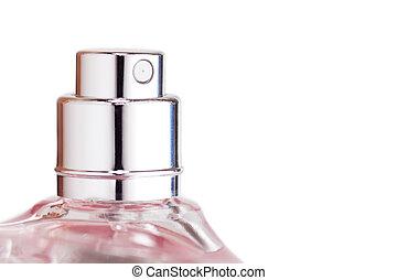 Perfume sprayer - Sprayer of transparent perfume bottle...