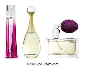 Perfume - Studio photo of luxury perfume bottle.