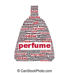 Perfume symbol isolated on white background