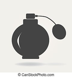 Perfumery vector line icon, linear concept, outline sign, symbol