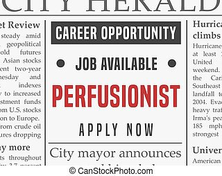 Perfusionist job