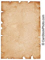 pergament, papper