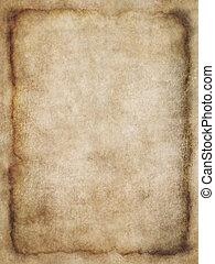 pergament, tekstur, 3