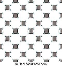 pergaminho, padrão, antigas, seamless, scroll