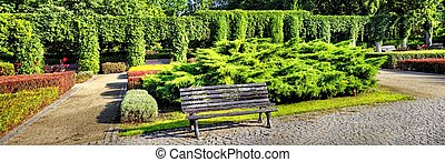 pergola, ogród