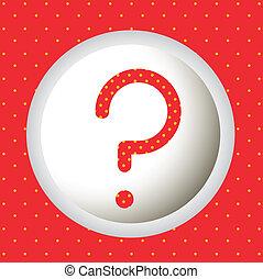 pergunta, ícones
