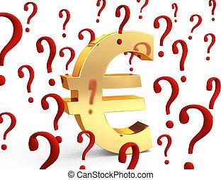 pergunta, euro