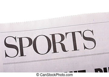 periódico, deportes