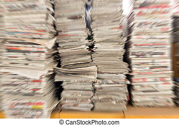 periódicos, viejo