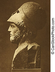 Pericles (495 BC-429 BC). Prominent and influential...