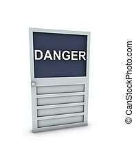 pericolo, porta